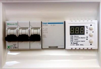 Блок управления электродным котлом