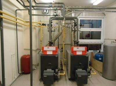 Комбинированные котлы для отопления большого частого особняка