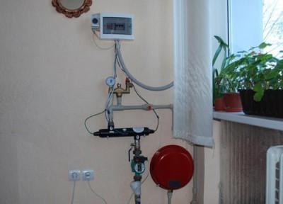 Для отопления однокомнатной квартиры достаточного электродного котла малой мощности