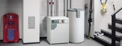 Электрические котлы можно одновременно использовать для горячего водоснабжения