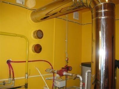 От качества дымохода к газовому котлу напрямую зависит безопасность жильцов дома