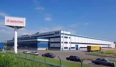 Завод Аристон в городе Всеволожск