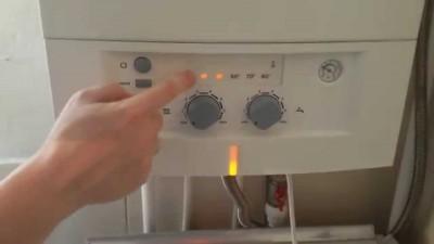Панель управления газового котла BOSCH GAZ 4000 ZWA 24-2 A
