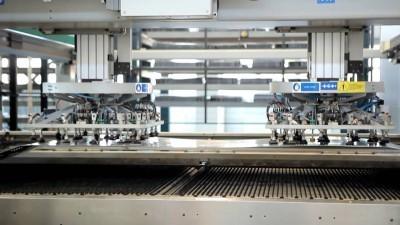 Современная линия сборки котлов на заводе Лемакс в Таганроге