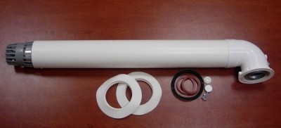 Дымоход с полимерным покрытием