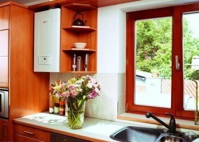 Для квартиры и небольшого коттеджа достаточно котла средней мощности