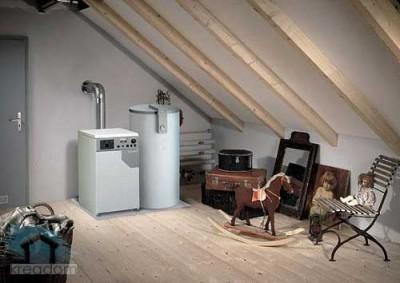 Для небольшого помещения или квартиры достаточно котла небольшой мощности