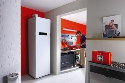 Мощный двухконтурный котел может обеспечить дом и теплом, и водой