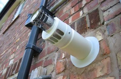 Коаксиальный дымоход позволяет ставить газовый котел даже в городской квартире