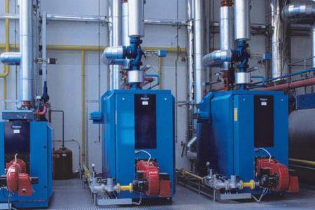 Промышленный газовый котел Buderus