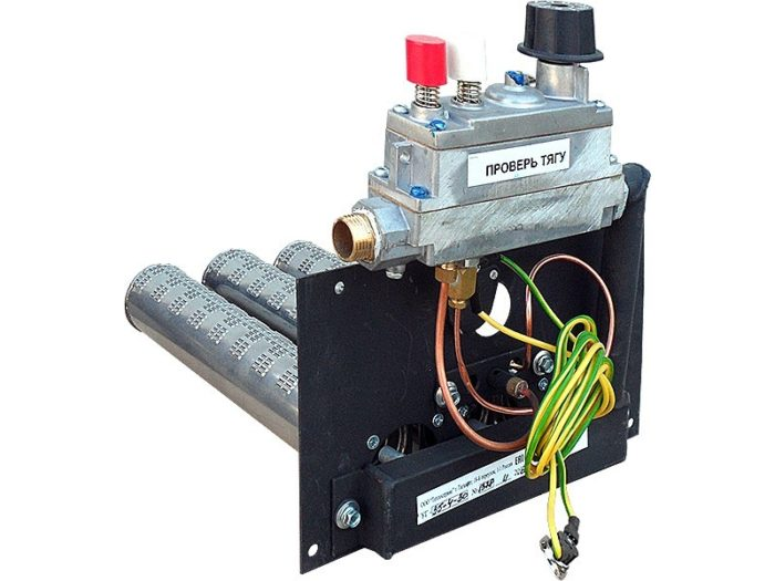 Вариант автоматики газового котла