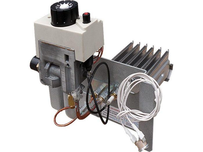 Пример автоматики для установки в газовом котле