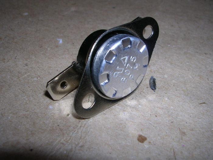 Заводской датчика тяги для газового котла
