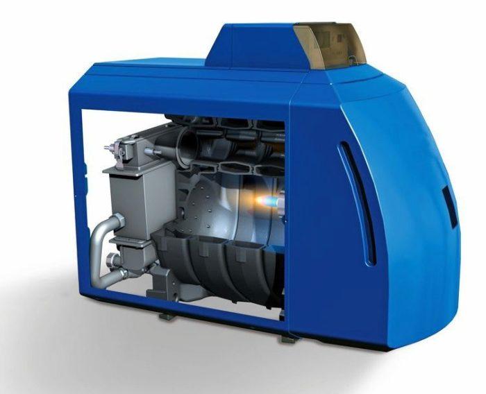 Внутреннее устройство дизельного котла отопления