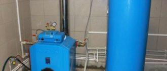 Пример дизельного котла отопления