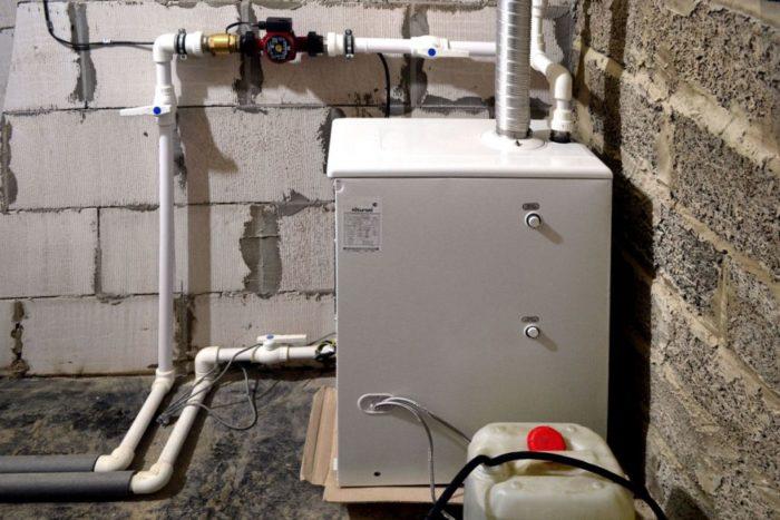 Котел на дизельном топливе для отопления дома