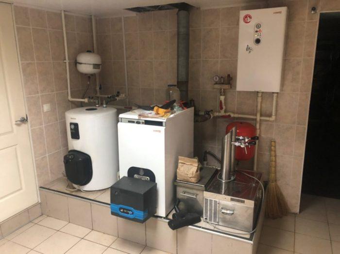 Смонтированная система отопления на дизельном топливе