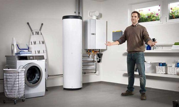 Вариант готовой системы отопления в доме