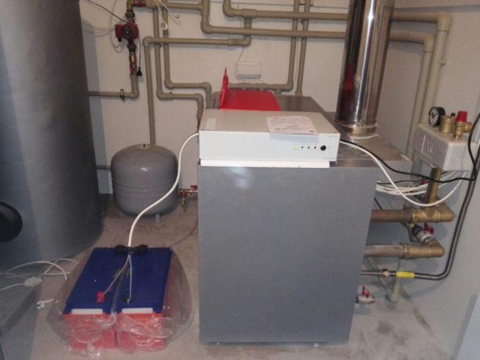 Смонтированная система с ИБП для котла