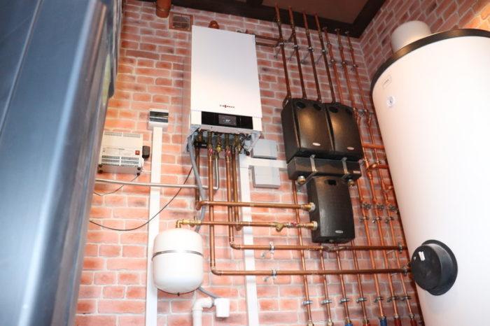 Процесс запуска системы отопления в доме