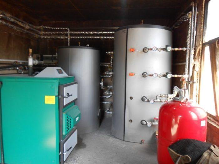 Система отопления сжиженным газом