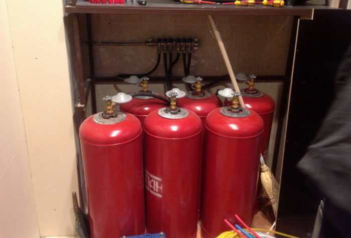 Использование сжиженного газа для отопления дома