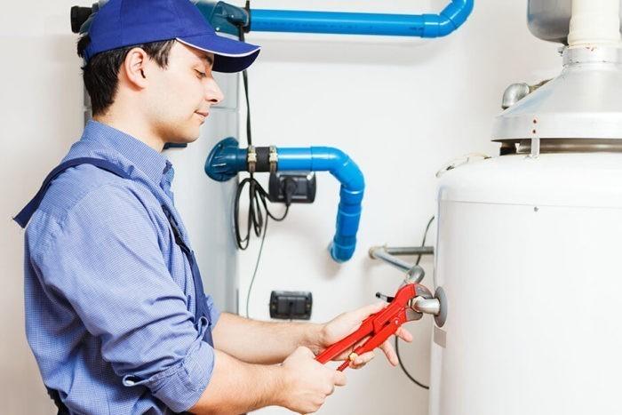 Процесс монтажа газового котла