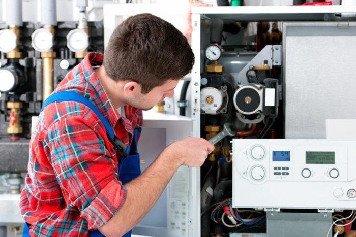 Проведение ремонта газового котла
