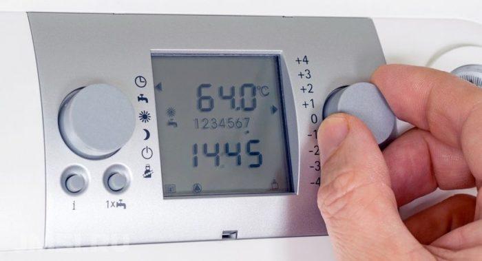 Регулирование терморегулятора