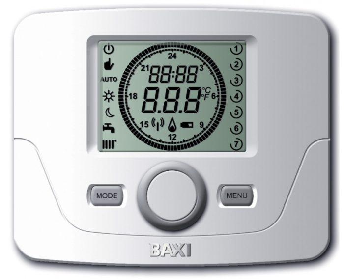 Пример термостата для газового котла