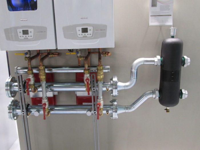 Вариант настенного газового котла