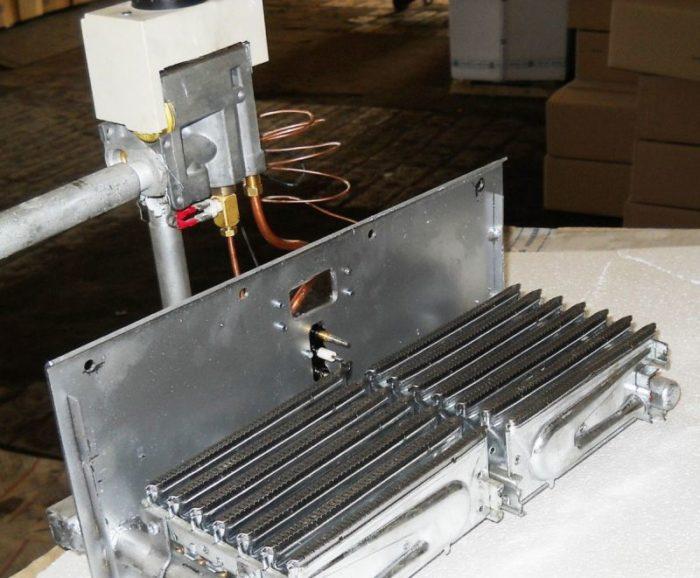 Атмосферная горелка для газового котла