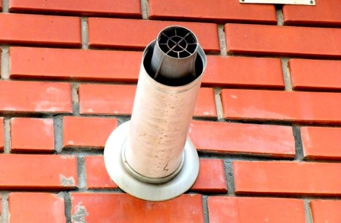 Труба газового котла